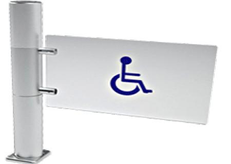 Puerta de cristal pivotante motorizada-PUERTA DE CRISTAL PIVOTANTE MOTORIZADA - GS550